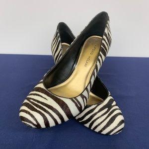 Antonio Melani   Boutique Zebra Print Heels   8.5M